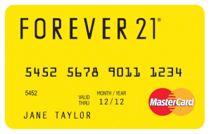 Best Credit Cards for Millennials - BDO Forever 21 Credit Card