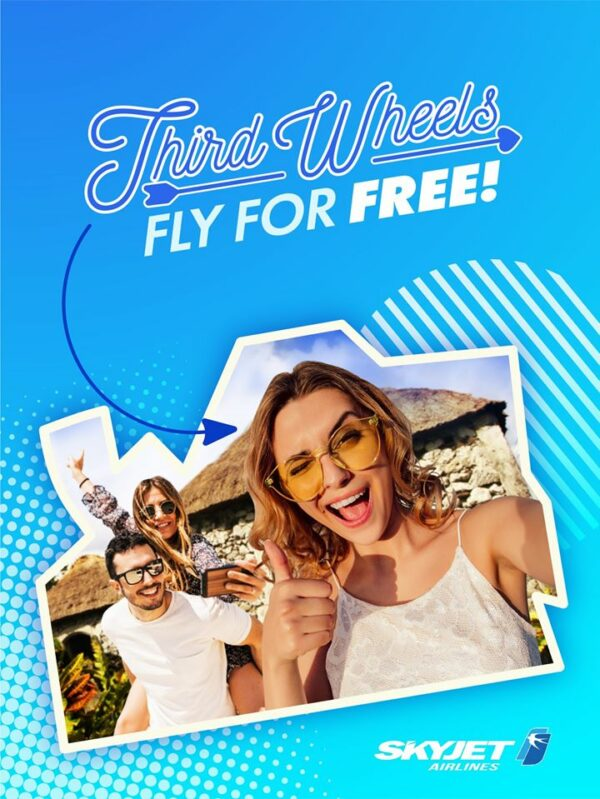 Valentine's Day for Singles - Skyjet Airlines promo