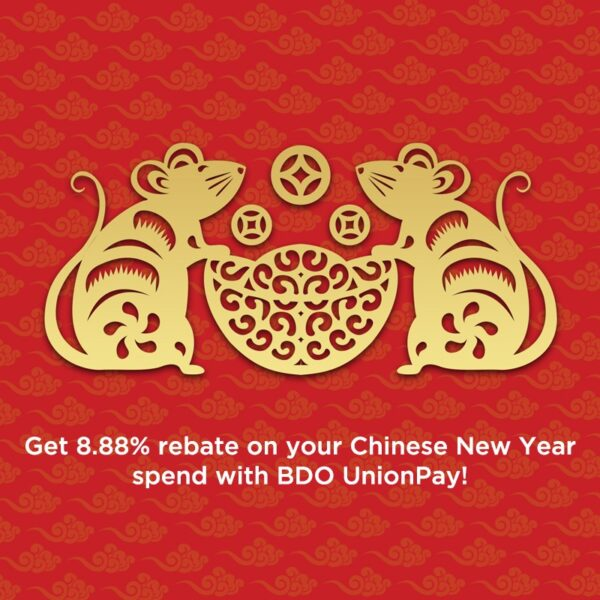 Chinese New Year 2020 Deals - BDO Credit Card Promo
