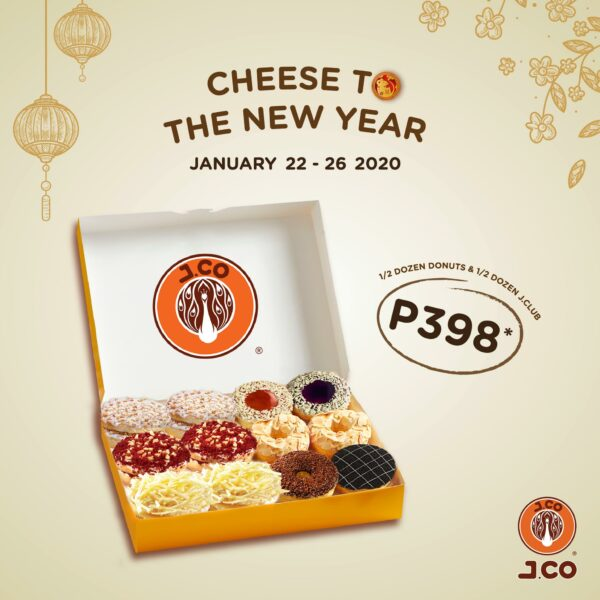 Chinese New Year 2020 Deals - Food Promos