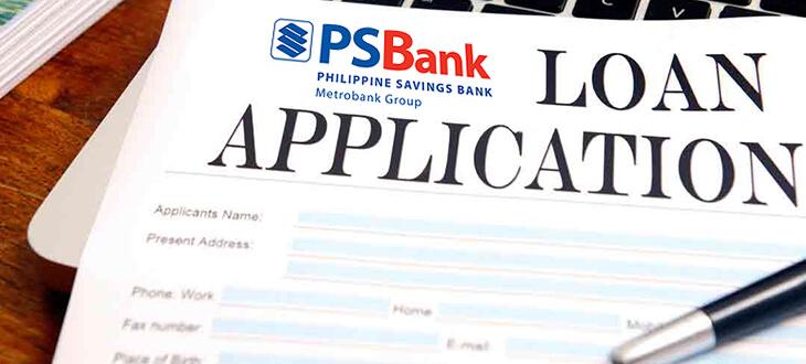PSBank Flexi Personal Loan Application