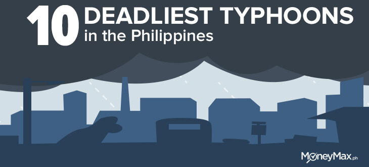 Deadliest typhoons in the Philippines