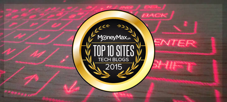 MoneymaxPH Top Ten Tech Blogs 2015