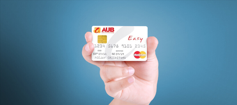 Asia United Bank Easy Mastercard