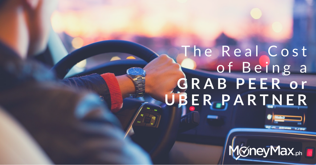 Real Cost of Being a Grab Peer or Uber Partner | MoneyMax ph