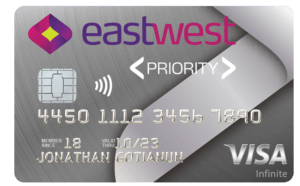 Credit Cards with Low Interest Rate in the Philippines - EastWest Priority Visa Infinite