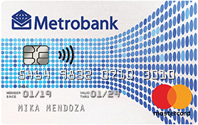Credit Cards with Low Interest Rate in the Philippines - Metrobank M Lite Mastercard