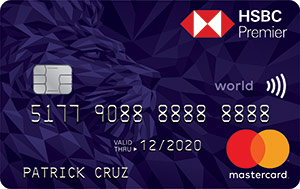 Credit Cards with Low Interest Rate in the Philippines - HSBC Premier Mastercard
