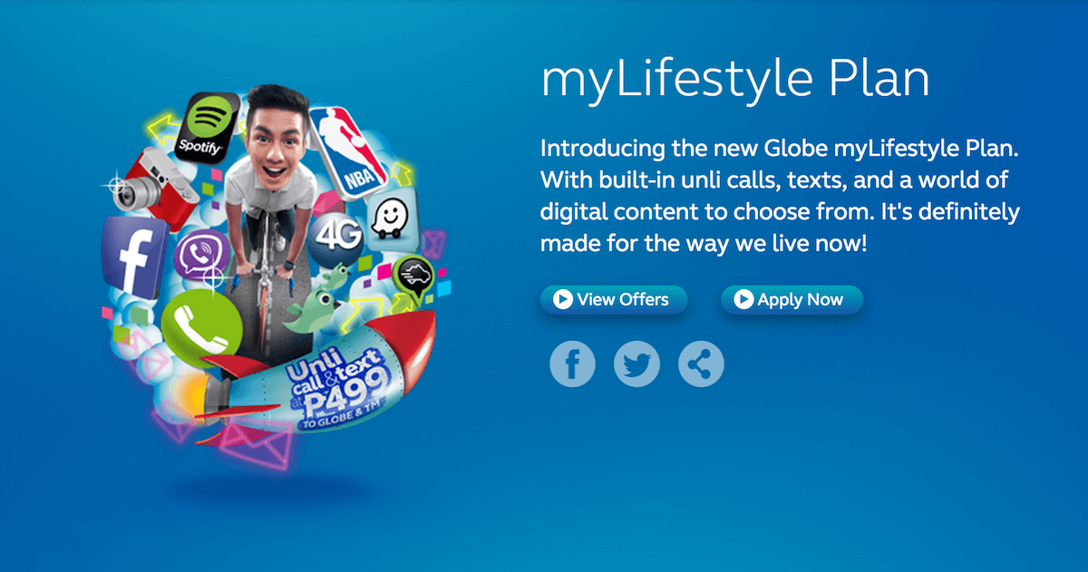 globe lifestyle