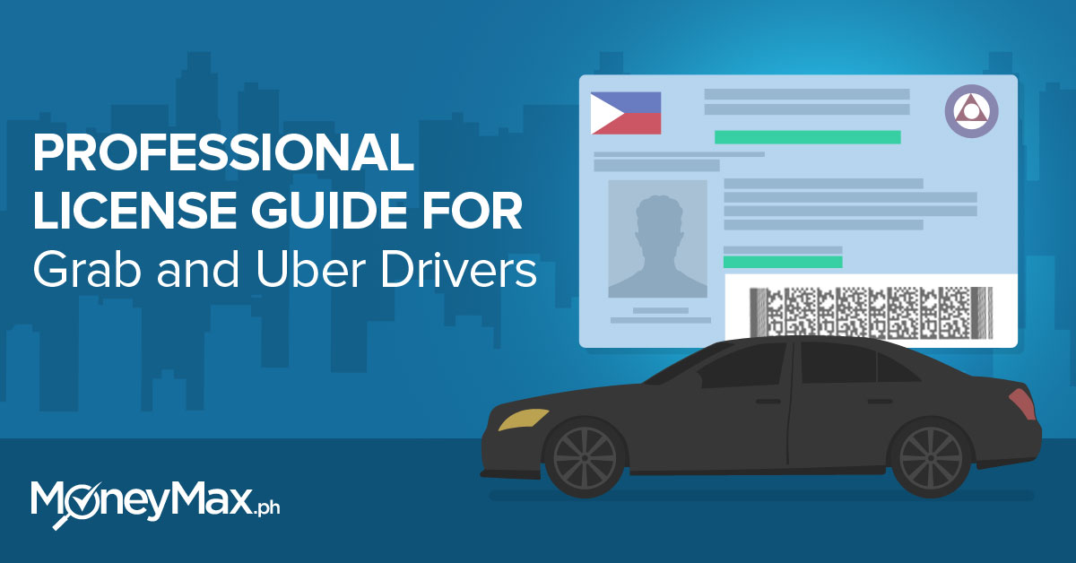 Professional license guide for grab and uber drivers
