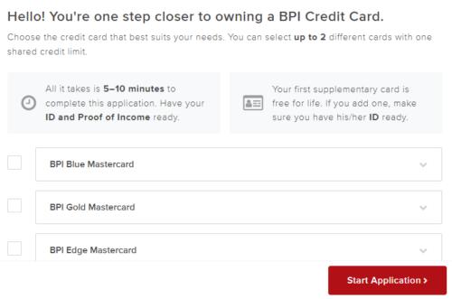 bpi credit card application guide - bpi credit card application form