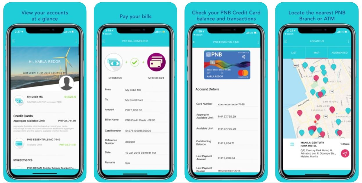 mobile banking apps - pnb app