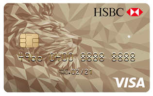 HSBC Credit Cards - HSBC Gold Visa Cash Back