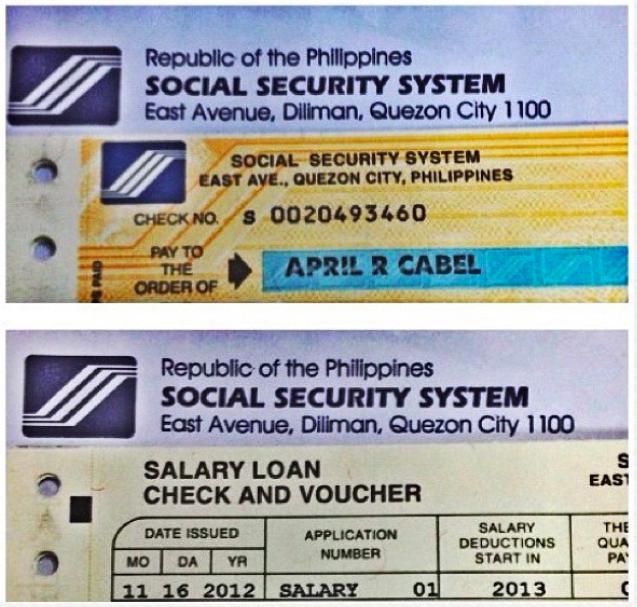 SSS salary loans