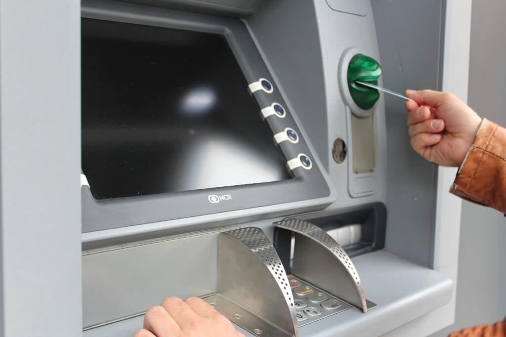 ATM withdrawal
