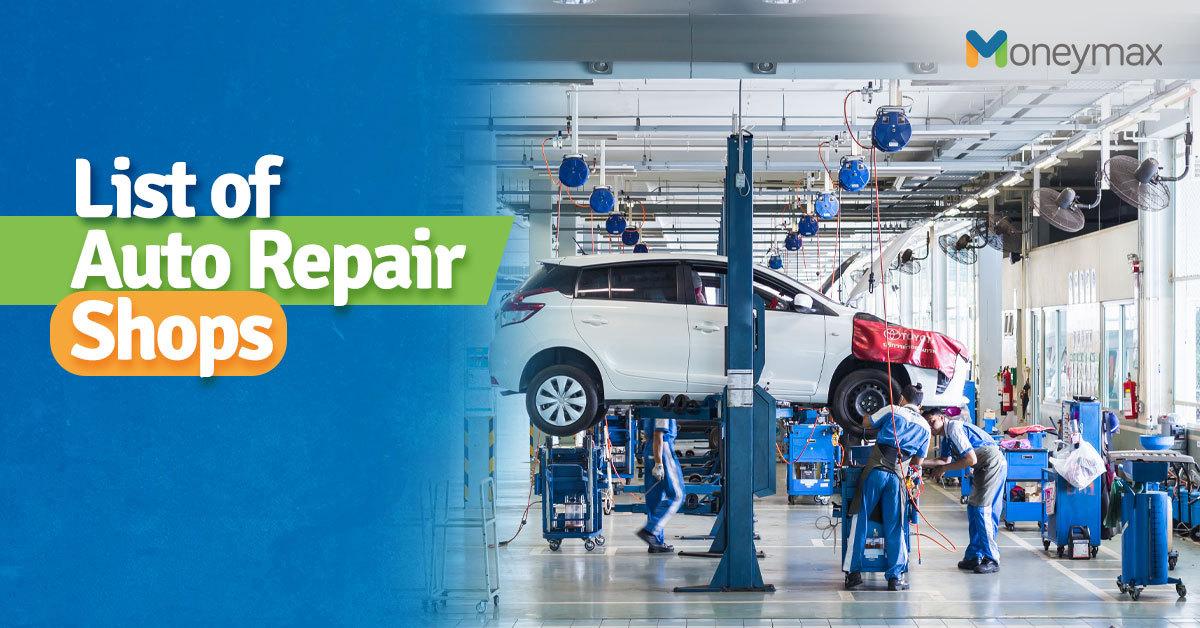 Auto Repair Shop in Metro Manila | Moneymax