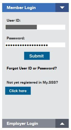 SSS Contribution Online - Login to My.SSS