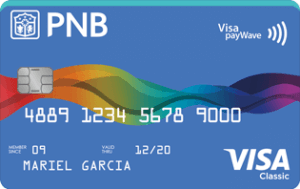 Credit Card for Low Income - PNB Visa Classic