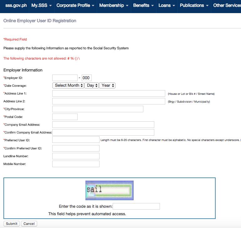 SSS Online Employer Account Registration Guide | MoneyMax ph