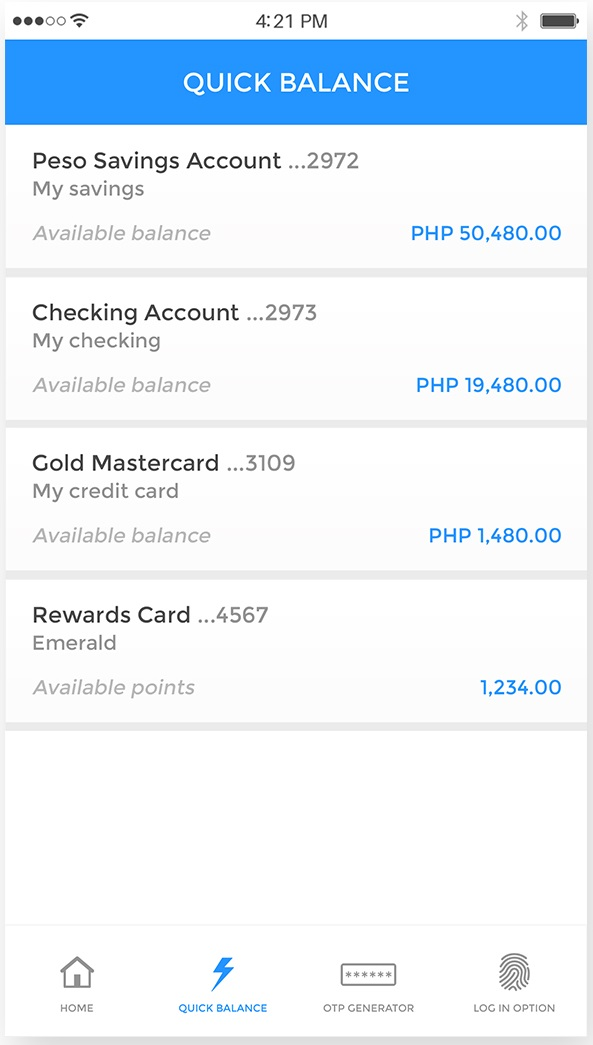 Budget Apps - BDO banking app