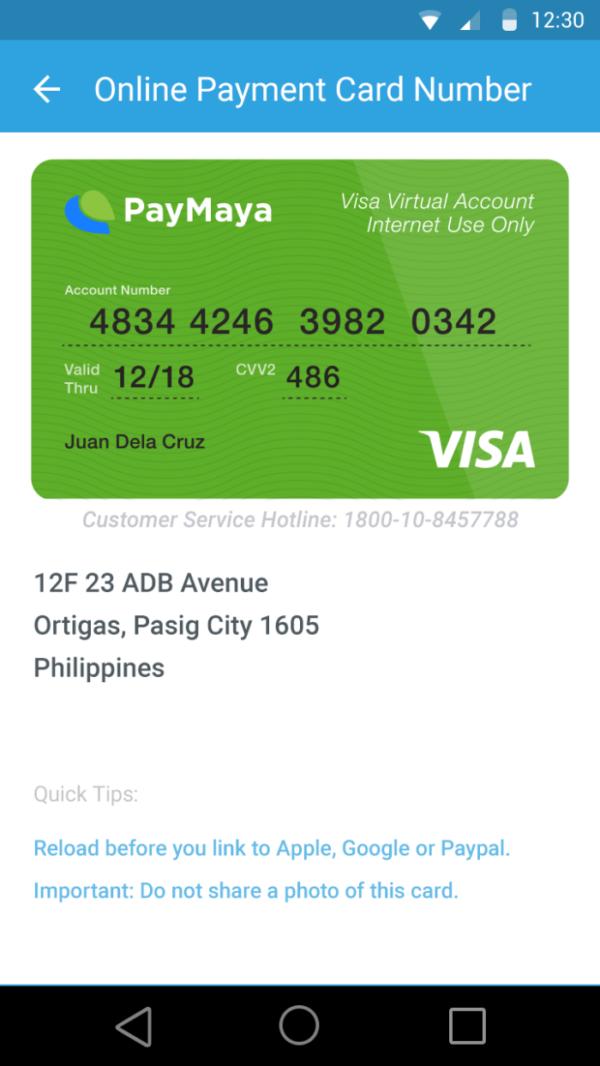 Budget Apps - Paymaya app