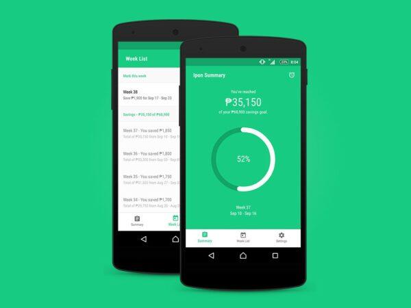Budget Apps - Ipon 52-Week Challenge app