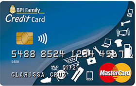 Credit Card for Low Income - BPI Family Credit Card