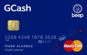 MasterCardBeepGcash