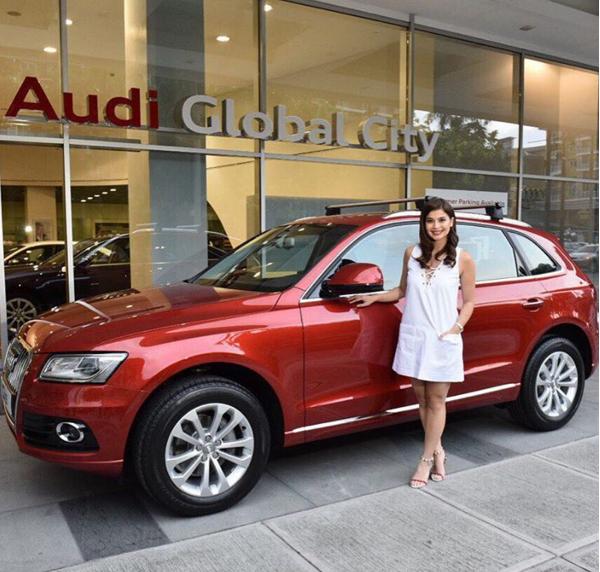 Anne Curtis - Audi Q5 and Audi A3