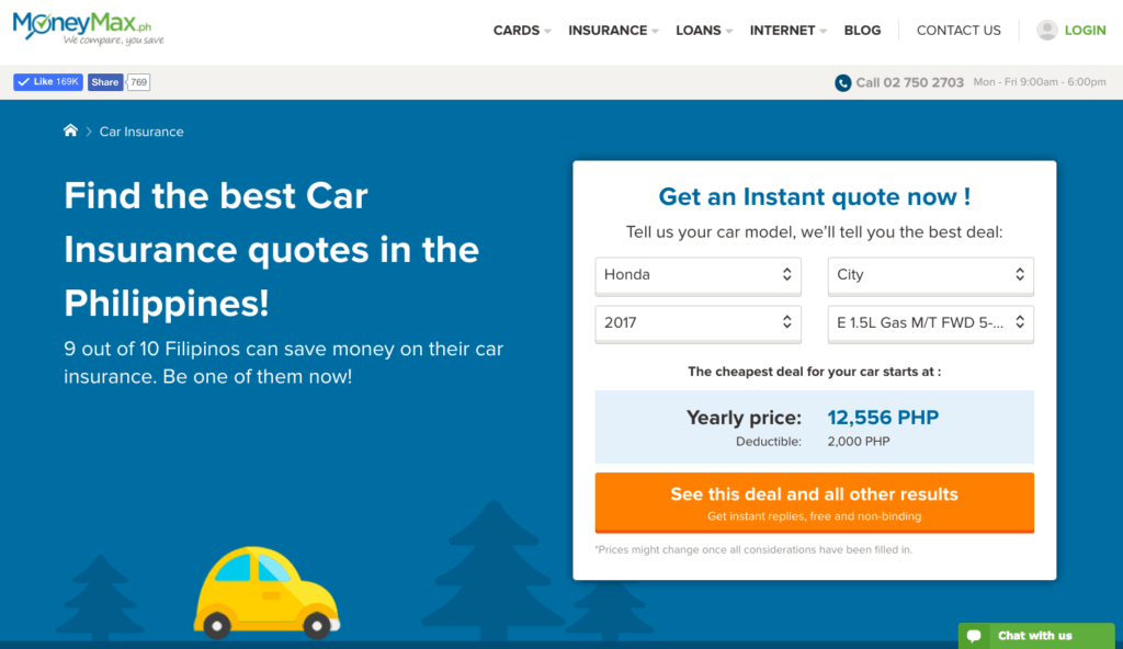 MoneyMax.ph car insurance