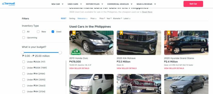 where to buy second hand cars - carmudi