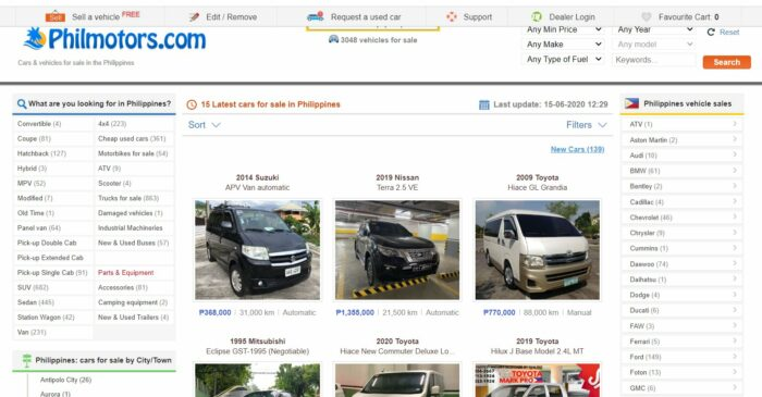 where to buy second hand cars -philmotors
