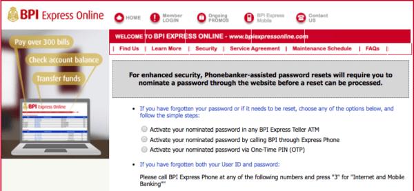 BPI Password Protection | MoneyMax.ph