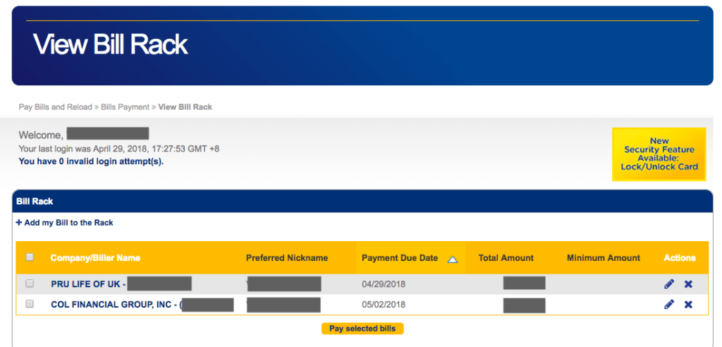 BDO Online Banking - Bills Payment | MoneyMax.ph
