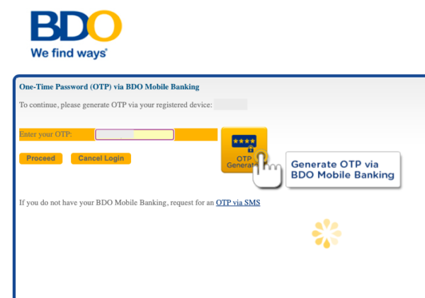 bdo online - security features user authentication