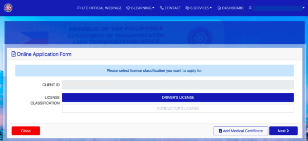 LTO Online Guide - LTO Driver's License Registration and Renewal