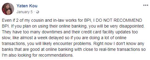 BPI Online Banking - Access Problems | MoneyMax.ph