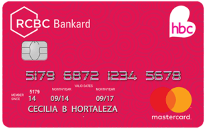 Credit Card for Low Income - HBC-RCBC Bankard Mastercard