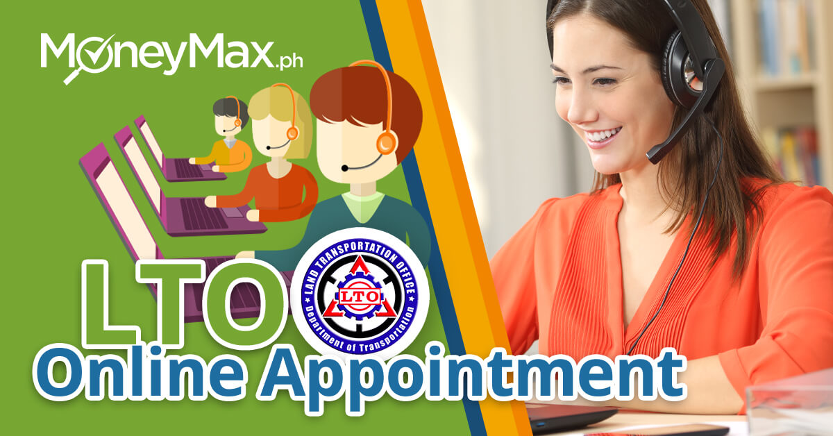 LTO Online Appointment System | MoneyMax.ph