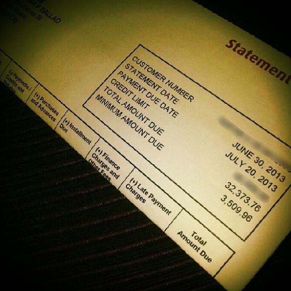 Credit Card Bill | MoneyMax.ph
