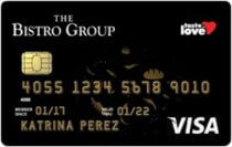 Best Co-branded Credit Cards - The Bistro Group Visa | MoneyMax.ph