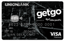 Best Co-branded Credit Cards - Cebu Pacific GetGo Platinum Credit Card | MoneyMax.ph