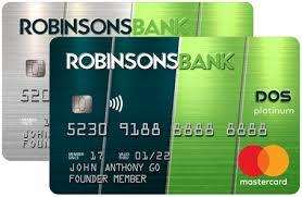 Robinsons DOS Matercard