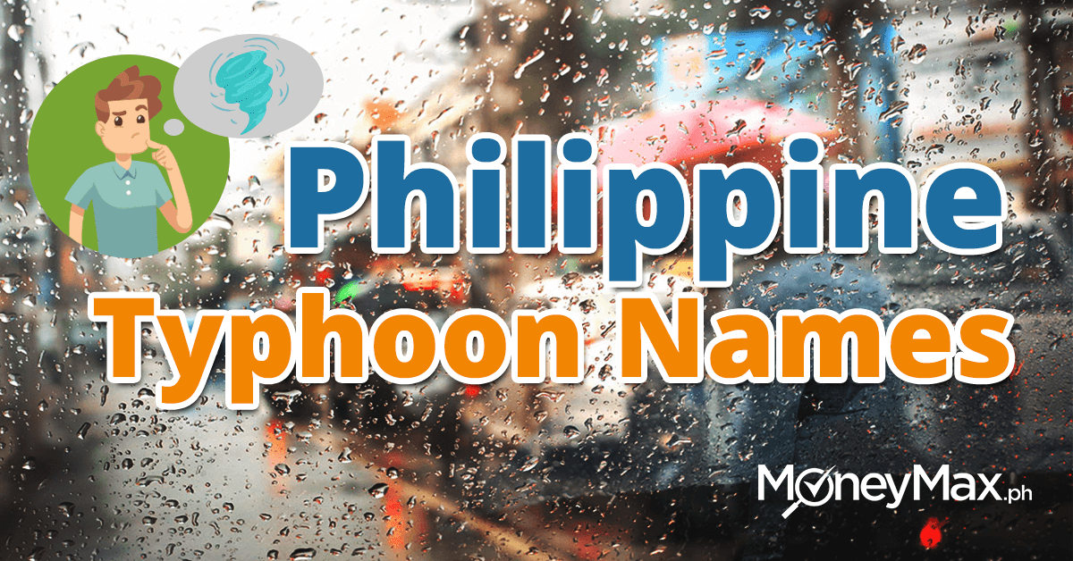 Philippine Typhoon Names | MoneyMax.ph