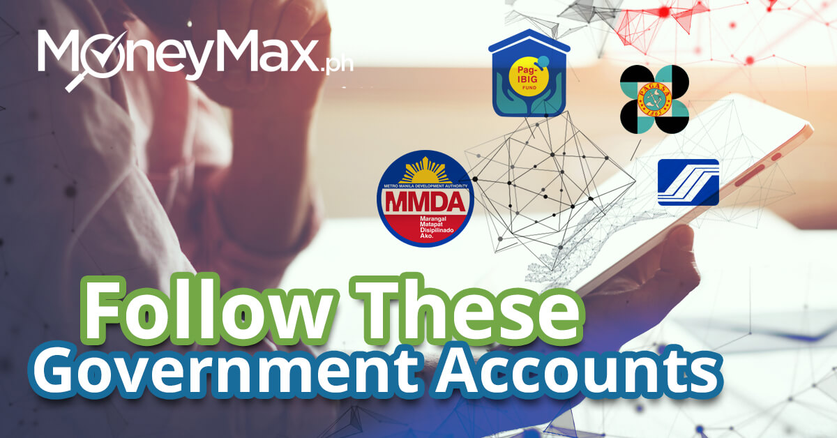 Government Social Media Accounts to Follow | MoneyMax.ph