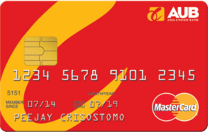 Credit Card for Low Income - AUB Classic Mastercard