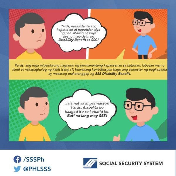 SSS Disability Pension | MoneyMax.ph
