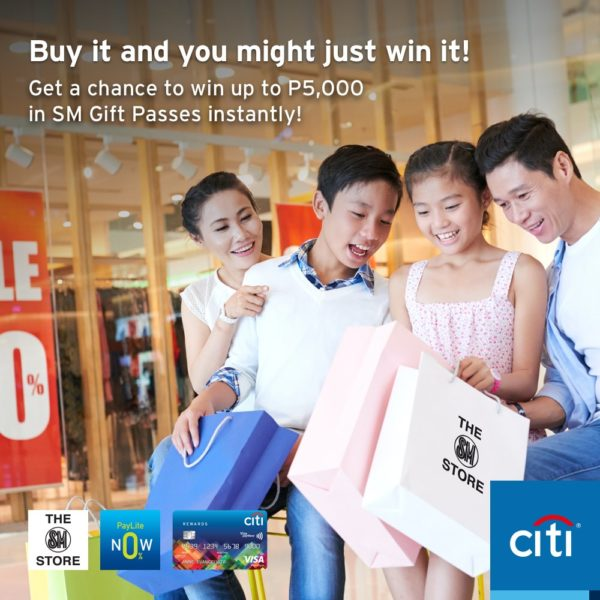 Citibank Credit Card Promo Shopping - SM Store