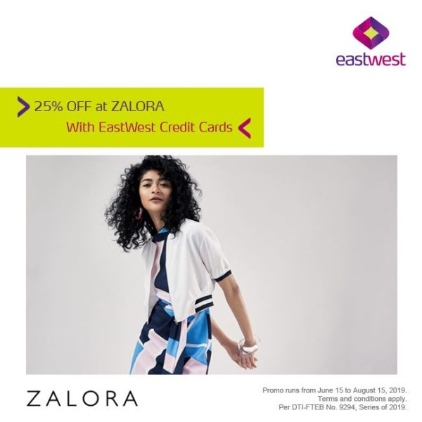 EastWest Credit Card Promo 2019 - Zalora Promo
