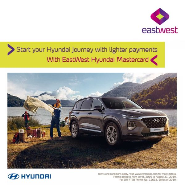 EastWest Credit Card Promo 2019 - Hyundai Promo